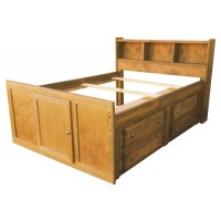 WRANGLE HILL COLLECTION - Twin Captain's Bed