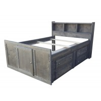 WRANGLE HILL COLLECTION - TWIN STORAGE BED