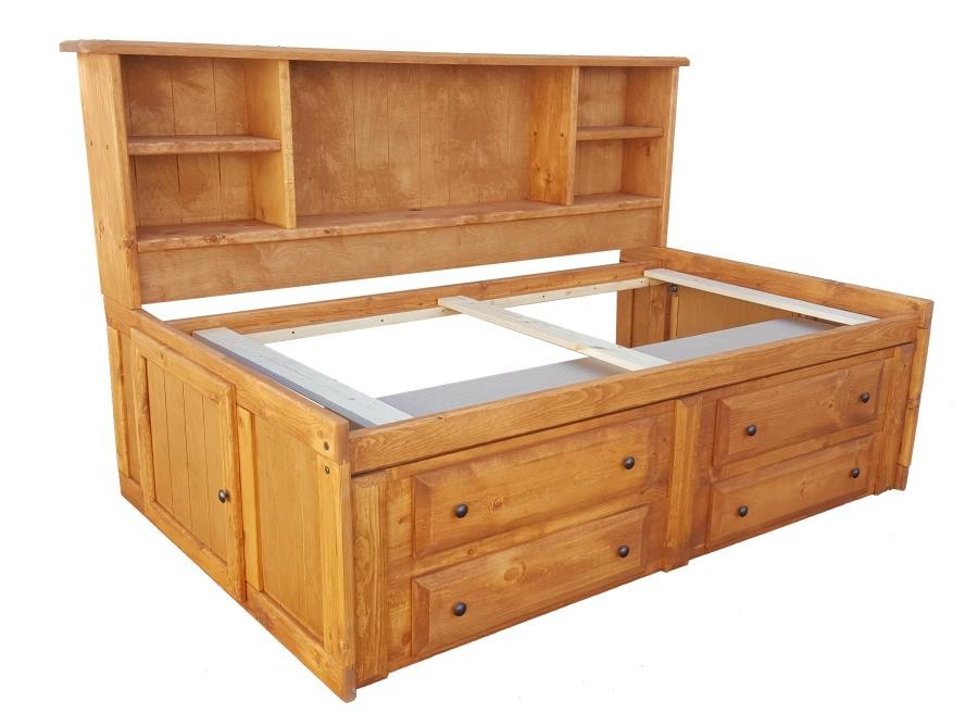 WRANGLE HILL COLLECTION - Twin Storage Daybed