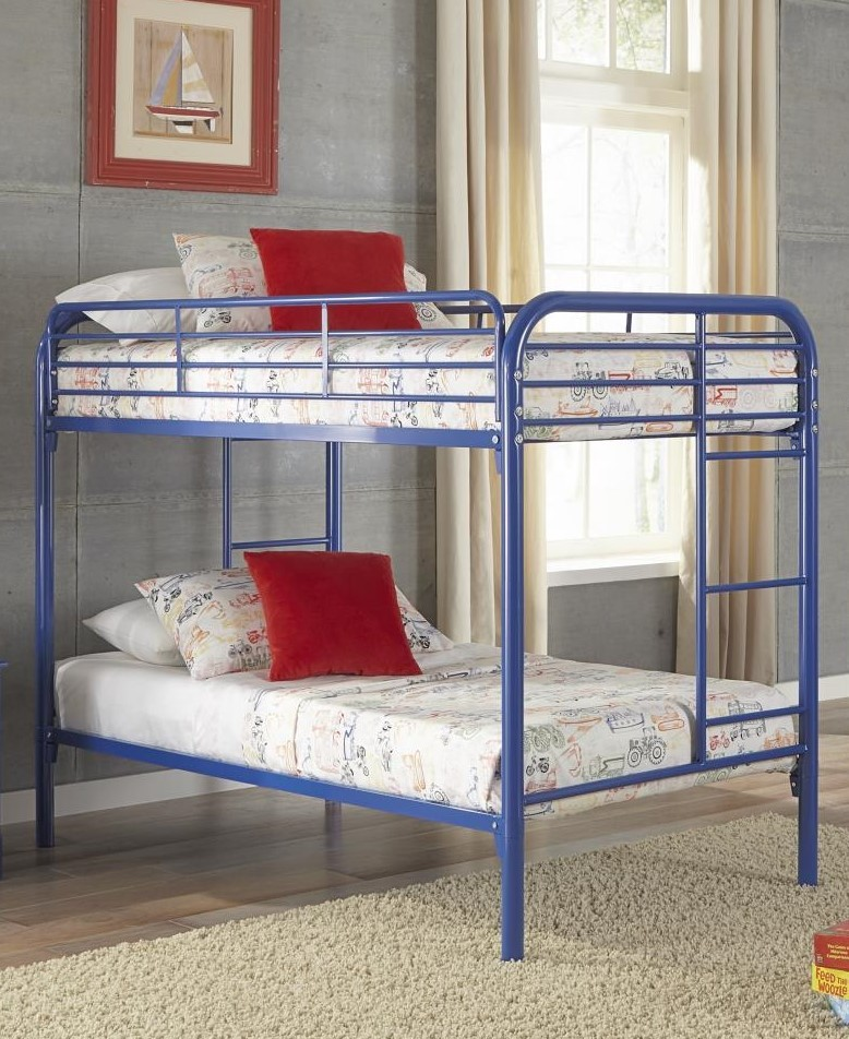 Royal Blue Twintwin Metal Bunkbeds 179 Tt Bunk Beds Gr8