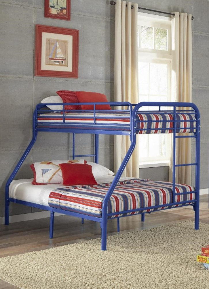 Royal Blue Tf Metal Bunkbeds 179 Tf Bunk Beds Gr8 Furniture