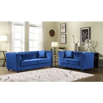 JoJo Blue Sofa & Love Group