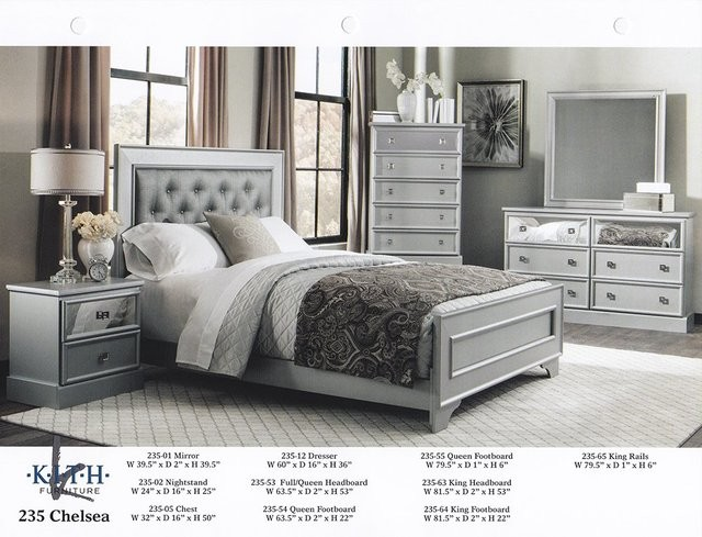 Chelsea 6Pc Bedroom Set