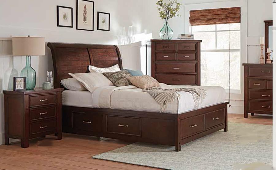 Bedroom Sets 206430ke S4 Complete Beds Furniture World Las Vegas