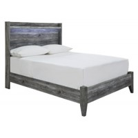 Baystorm - Gray - Full Panel Footboard w/Rails
