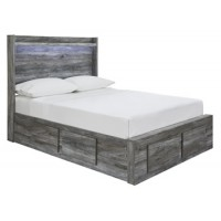 Baystorm - Gray - Full Storage Footboard