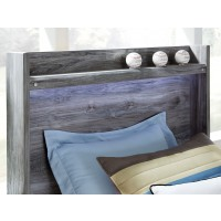 Baystorm - Gray - Full Panel Headboard