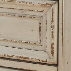 Vanity Mirror.Realyn Chipped White Vanity Mirror Stool 3 Cn