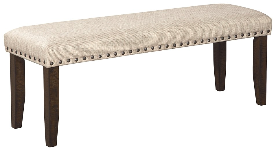 Magnificent Rokane Brown Large Uph Dining Room Bench Beatyapartments Chair Design Images Beatyapartmentscom