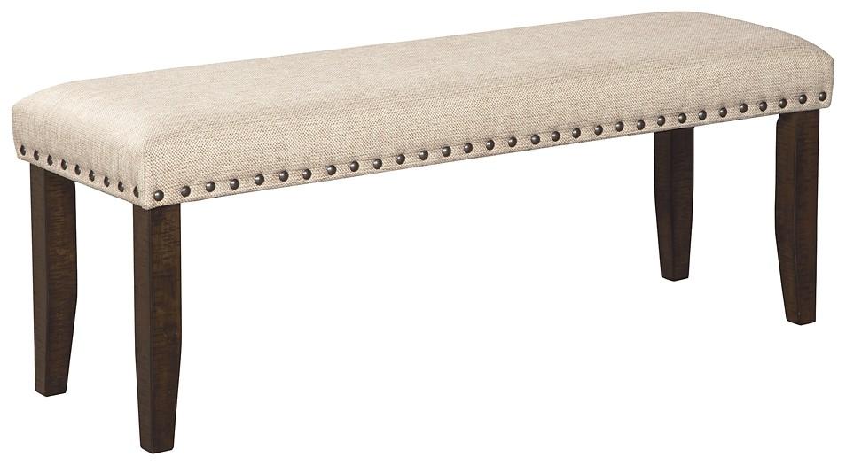 Astonishing Rokane Brown Large Uph Dining Room Bench Inzonedesignstudio Interior Chair Design Inzonedesignstudiocom