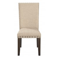 Rokane - Brown - Dining UPH Side Chair (2/CN)