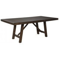 Rokane - Brown - RECT Dining Room EXT Table
