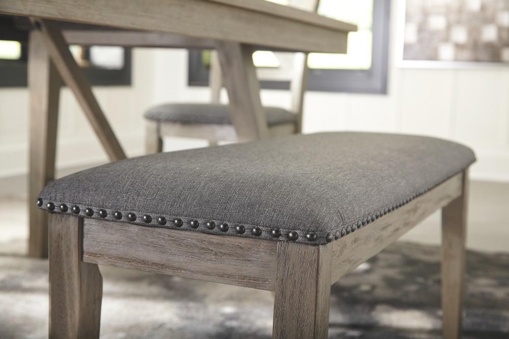 Astonishing Aldwin Dark Gray Upholstered Bench Pdpeps Interior Chair Design Pdpepsorg