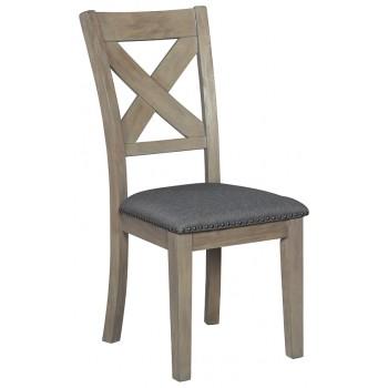 Aldwin - Dark Gray - Dining UPH Side Chair (2/CN)
