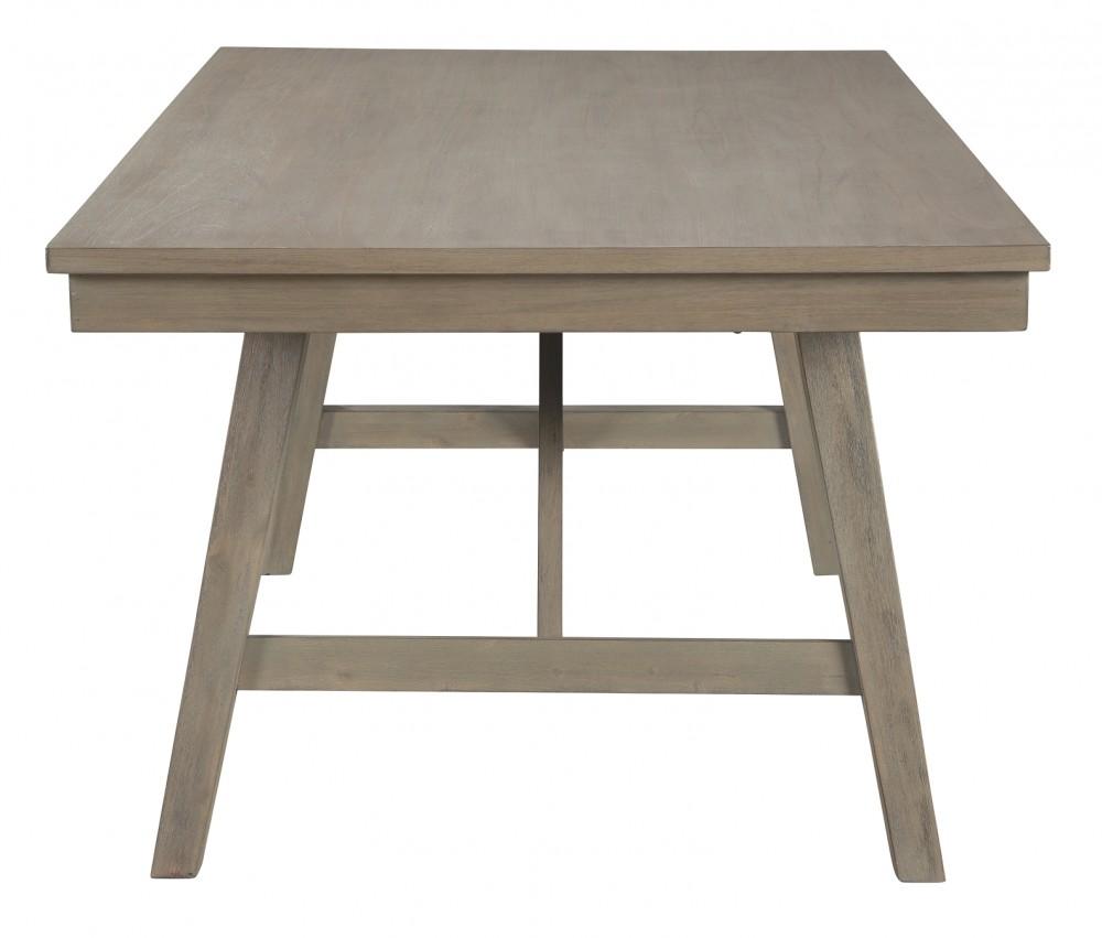 Aldwin - Dark Gray - Rectangular Dining Room Table