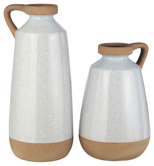 Tilbury - Cream - Vase (2/CN)