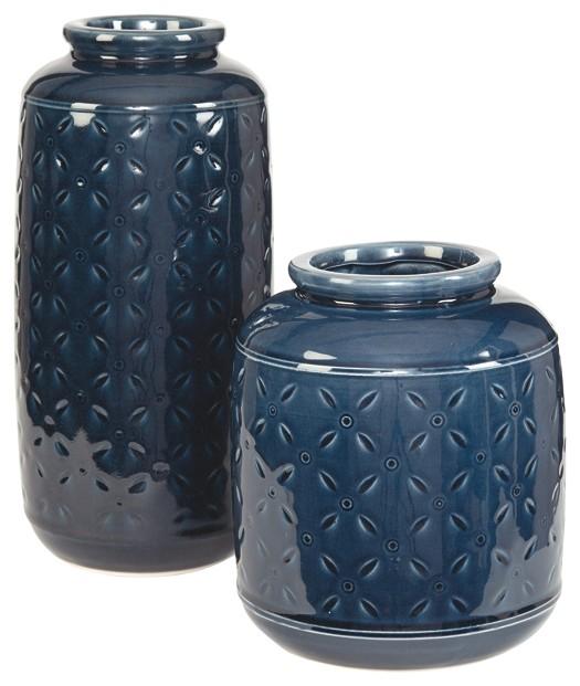 Marenda - Navy Blue - Vase (2/CN)
