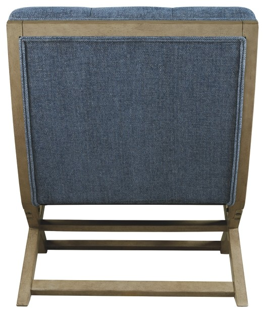 Sidewinder Blue Accent Chair A3000134 Living Room