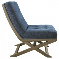 Sidewinder - Blue - Accent Chair