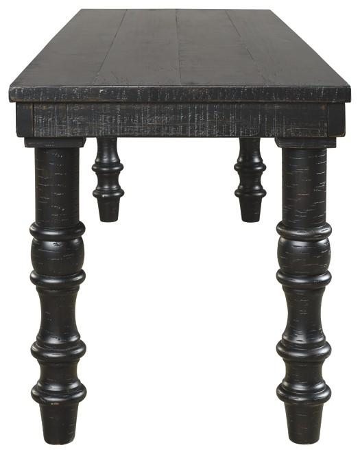 Dannerville - Antique Black - Accent Bench
