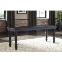 Dannerville - Antique Black - Accent Bench