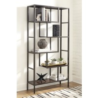 Frankwell - Brown/Black - Bookcase
