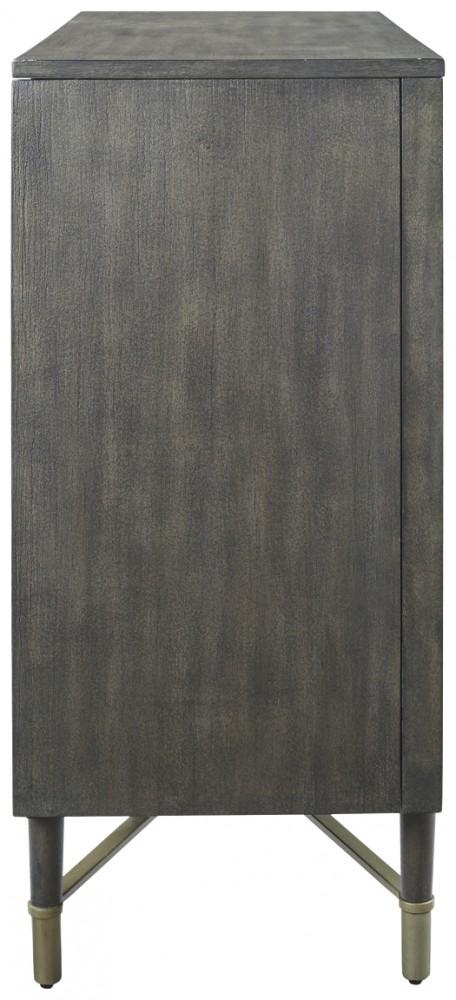 Aidanburg - Antique Black - Accent Cabinet