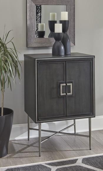 Beritbury - Antique Gray - Accent Cabinet