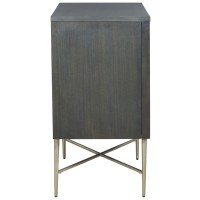Beritbury - Antique Gray - Accent Cabinet