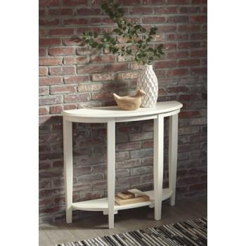 Altonwood - White - Console Sofa Table
