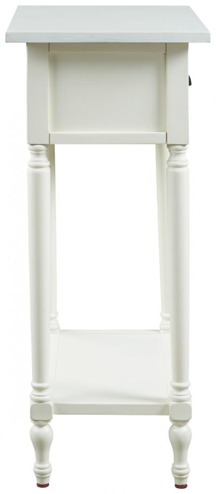 Juinville - White - Accent Table