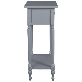 Juinville - Gray - Accent Table