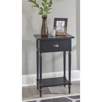 Juinville - Black - Accent Table