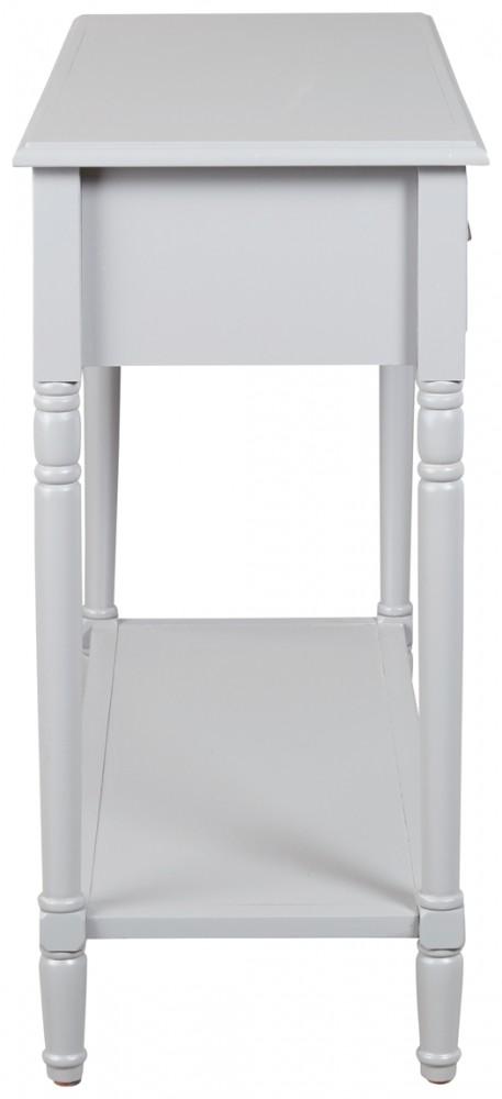 Brilliant Goverton Gray Console Sofa Table Beatyapartments Chair Design Images Beatyapartmentscom