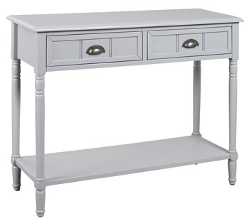 Goverton - Gray - Console Sofa Table