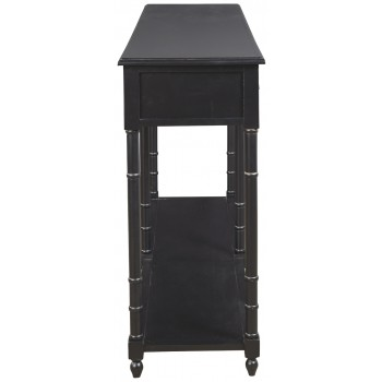 Eirdale - Black - Console Sofa Table