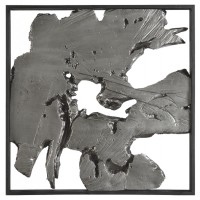 Fabiana - Black/Silver Finish - Wall Decor