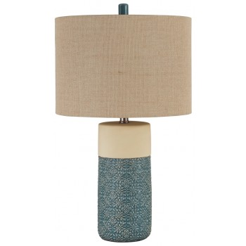 Evalyn - Green - Ceramic Table Lamp (2/CN)