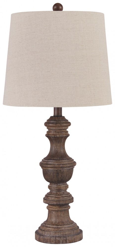 Magaly - Brown - Poly Table Lamp (2/CN)