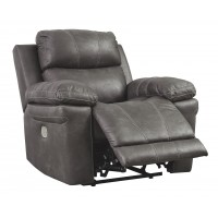 Erlangen - Midnight - PWR Recliner/ADJ Headrest