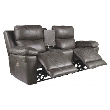 Astounding Erlangen Midnight Pwr Rec Loveseat Con Adj Hdrst Caraccident5 Cool Chair Designs And Ideas Caraccident5Info