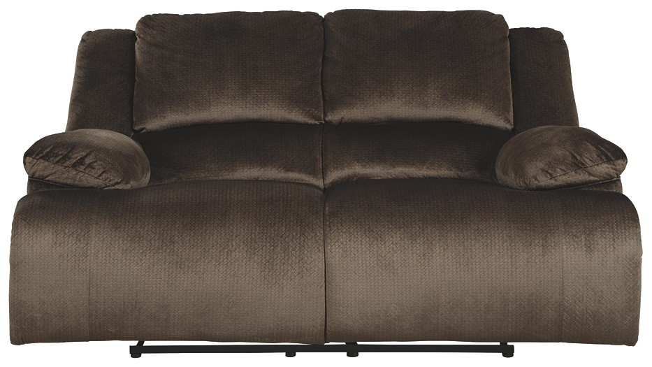 Swell Clonmel Chocolate Reclining Power Loveseat Gmtry Best Dining Table And Chair Ideas Images Gmtryco