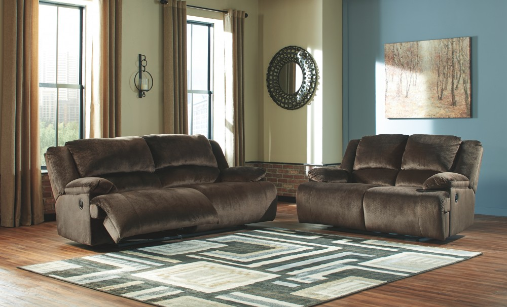Clonmel Chocolate 2 Seat Reclining Sofa 3650481