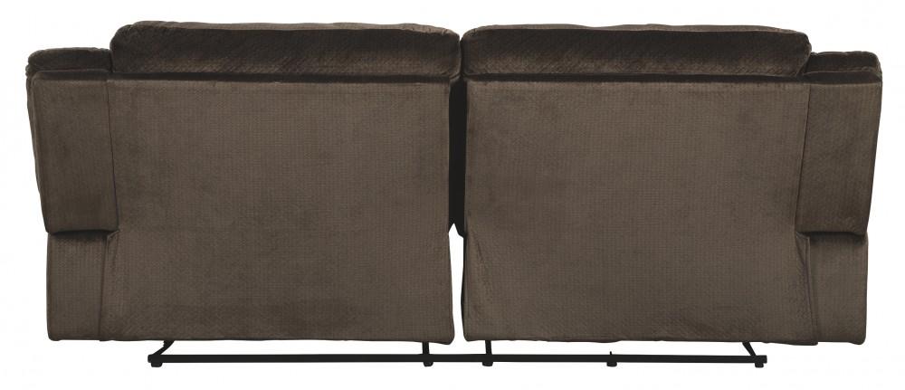 Clonmel Chocolate 2 Seat Reclining Sofa 3650481