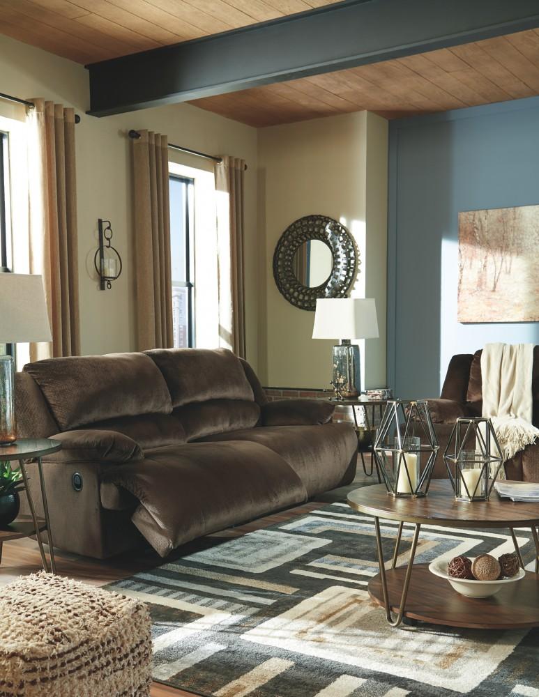 Clonmel - Chocolate - 2 Seat Reclining Sofa | 3650481 | Reclining ...