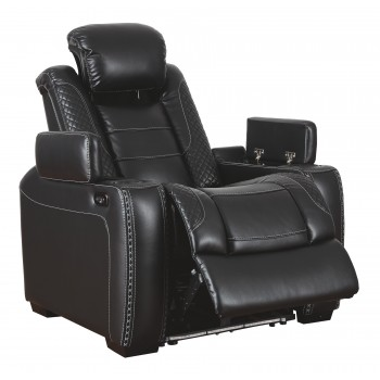 Party Time - Midnight - PWR Recliner/ADJ Headrest