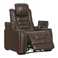 Game Zone - Bark - PWR Recliner/ADJ Headrest