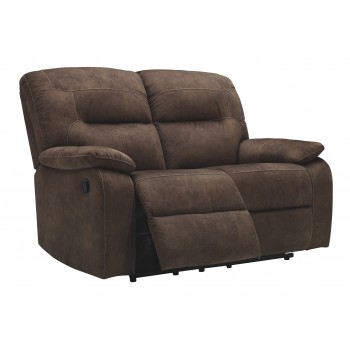 Bolzano - Coffee - Reclining Loveseat