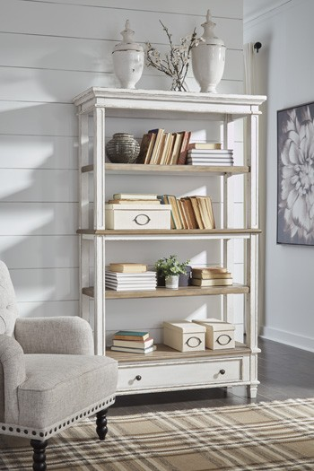 Realyn - Two-tone - Bookcase