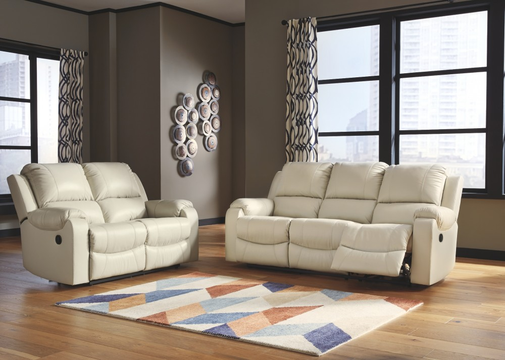 Rackingburg Vanilla Reclining Sofa U3330288